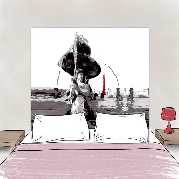 Tete de lit Place de la Concorde