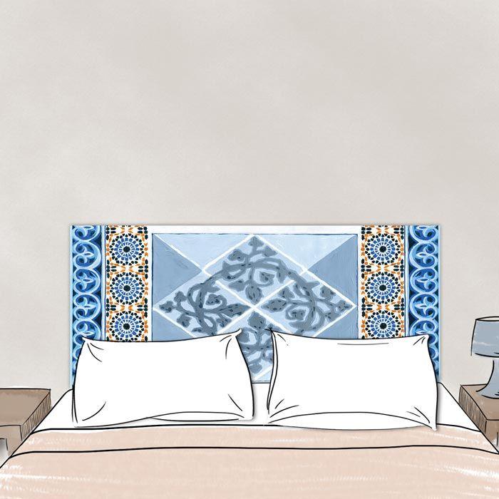 Tete de lit Mosaique