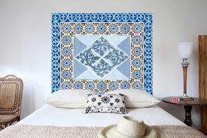 Tete de lit Mosaiques 160*140 cm