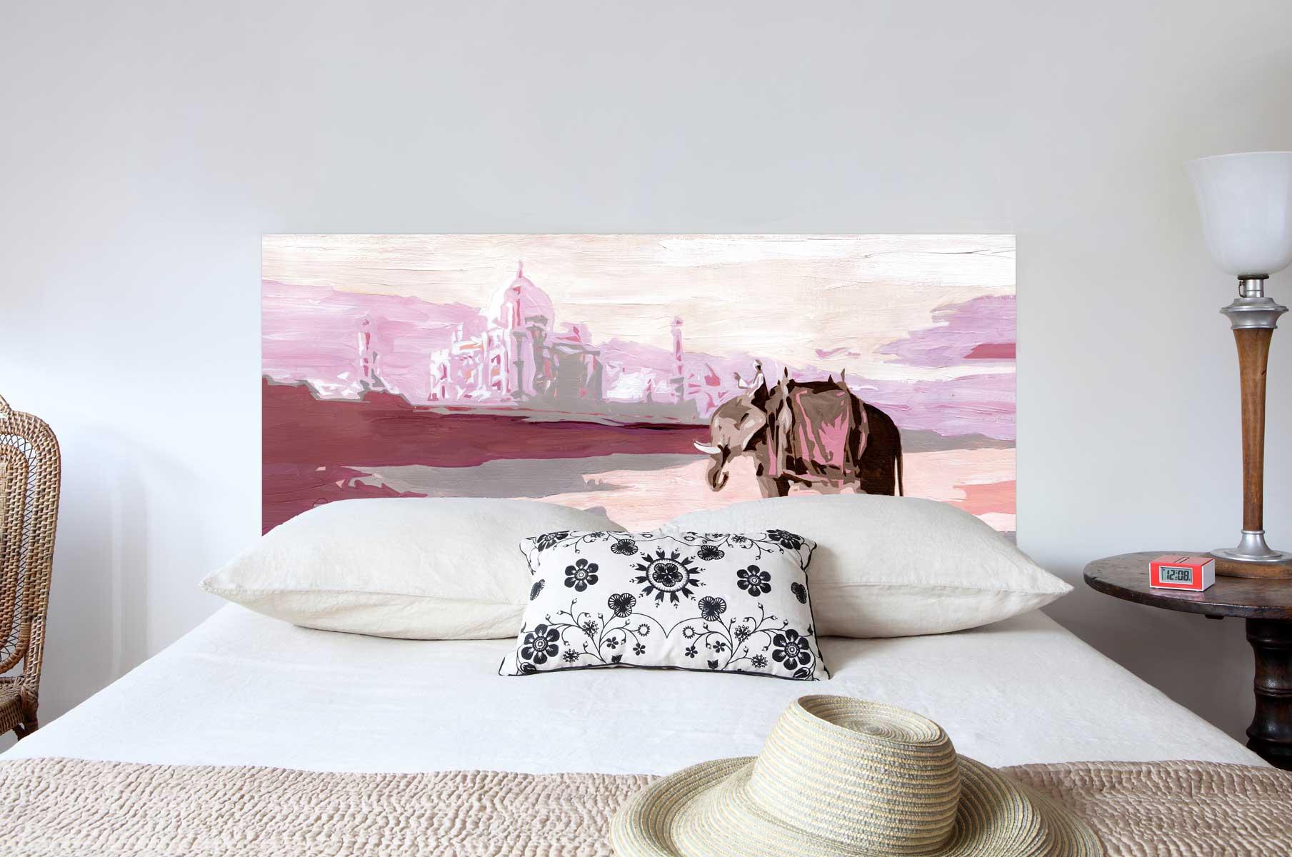 Tete de lit Palais Indien 160*70 cm