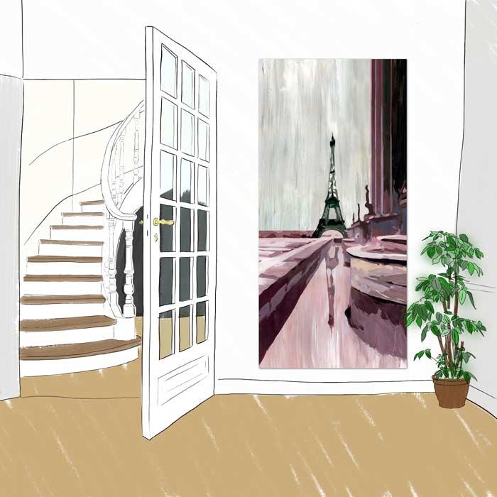 Panneau decoratif Trocadéro