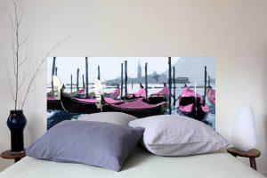 Tete de lit venise Rose 160*70 cm