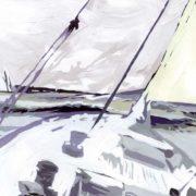 Visuel Tete de lit Marine 160*70 cm