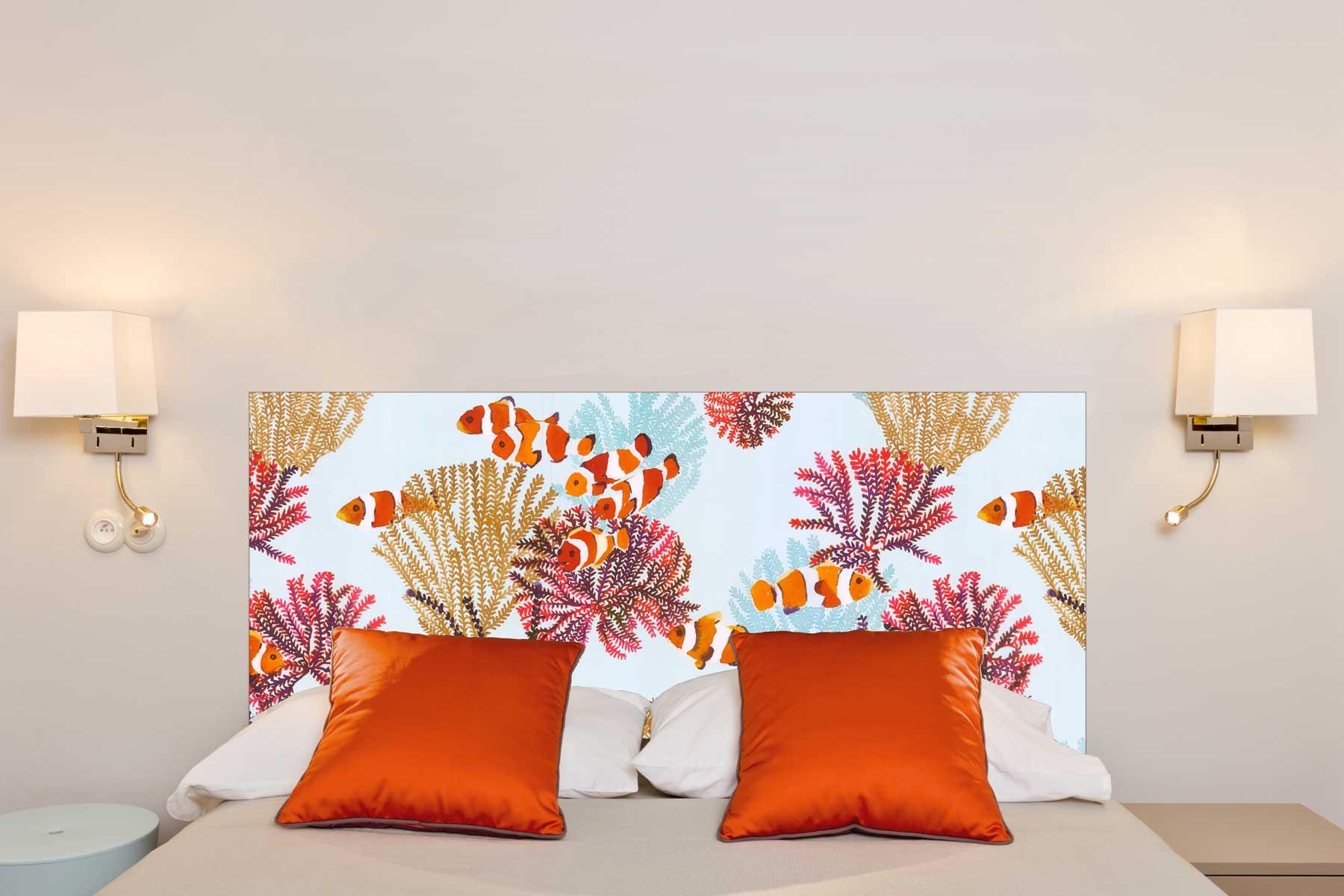 Tete de lit Coraux 160*70 cm