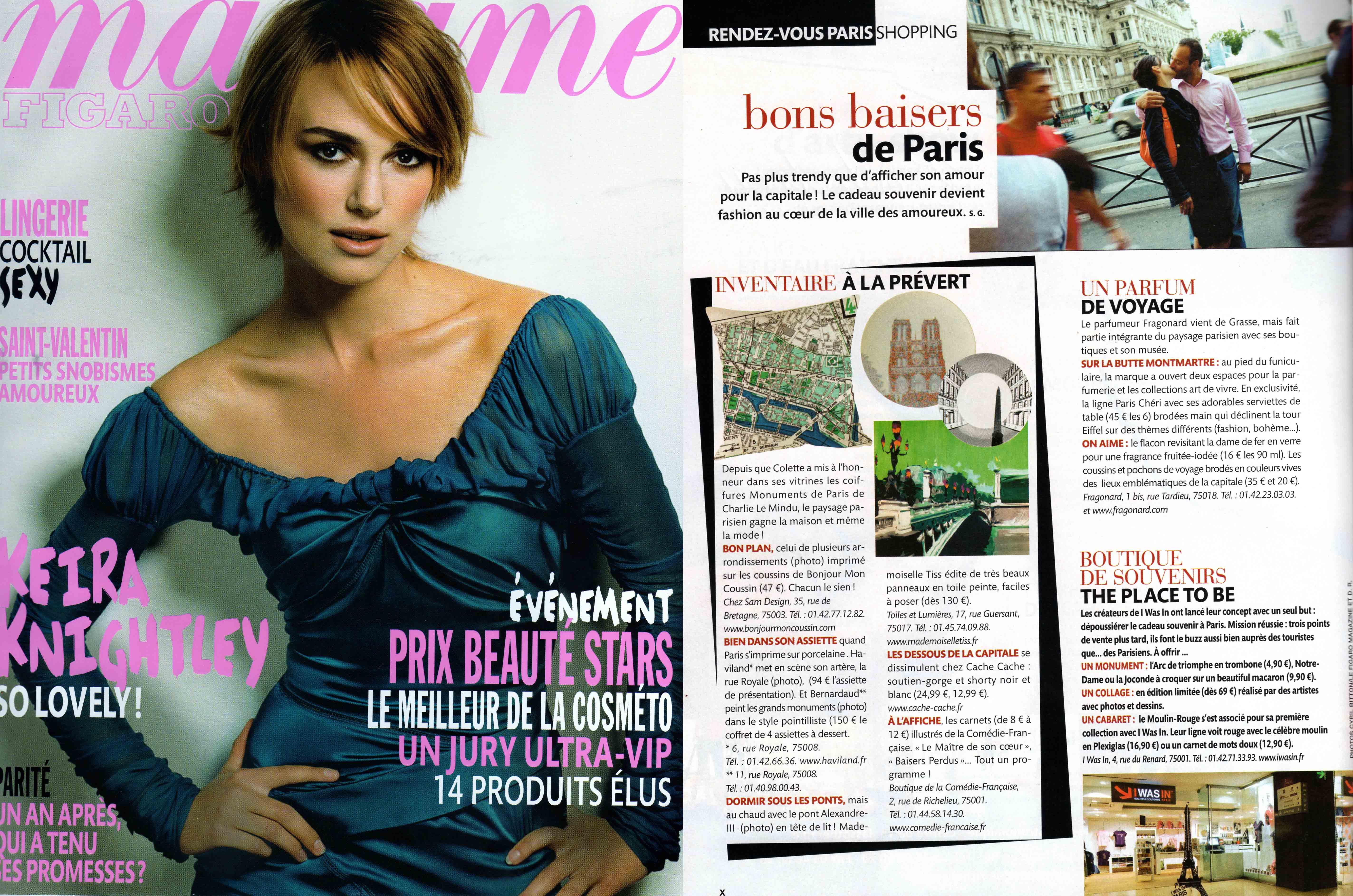 Madame Figaro et Mademoiselle Tiss