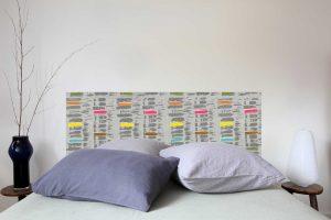 Tete de lit Pastilles 160*70 cm