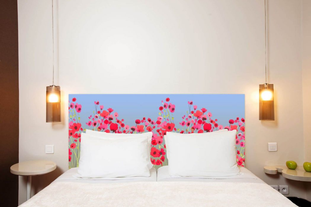Tete de lit Poppy Power 160*70 cm
