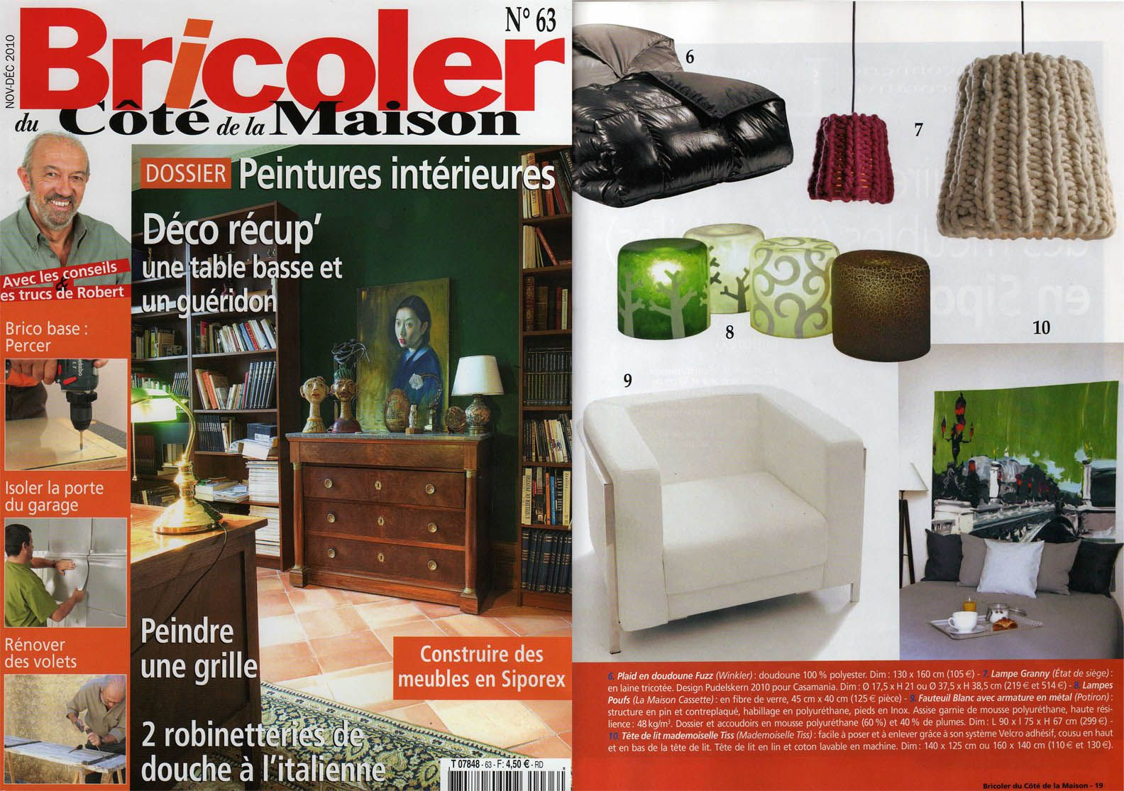 bricoler du cot de la maison ventana blog. Black Bedroom Furniture Sets. Home Design Ideas