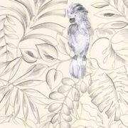 Tete de lit Perroquets