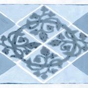 Tete de lit Mosaiques
