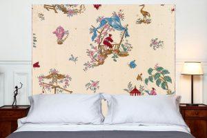tete de lit chinoiseries 160*140 cm