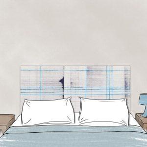 tete de lit variation 160*70 dessin