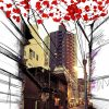 visuel panneau decoratif Tokyo Street