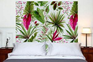 tête de lit sous les Tropiques 160*140 cm