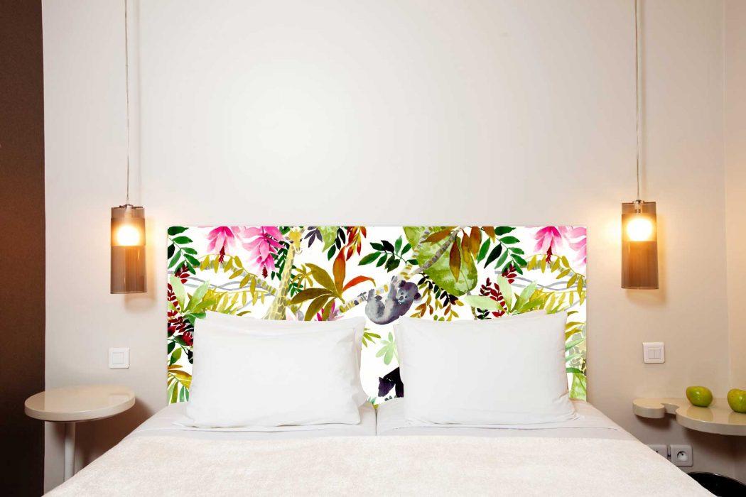 Tete de lit Jungle 160*70 cm
