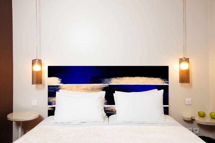 tête de lit illusions format paysage 160*70 cm