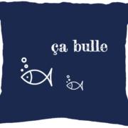 Coussin à personnaliser Ca Bulle