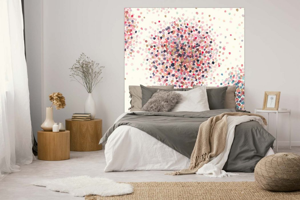 Tête de lit Confettis 160*140 cm