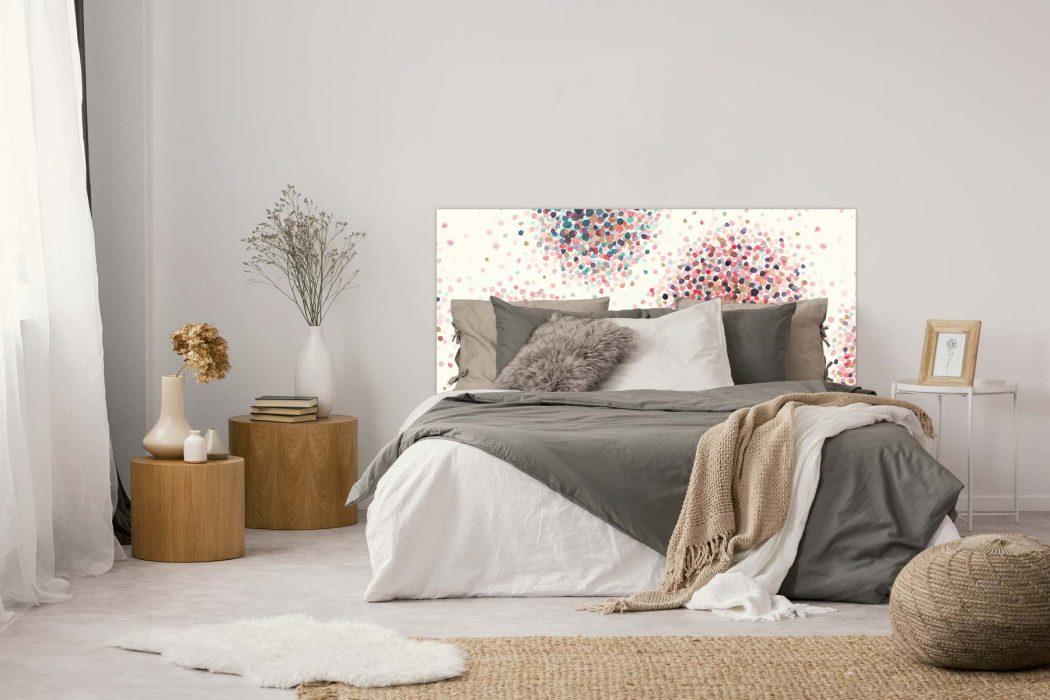 tête de lit Confettis 160*70 cm