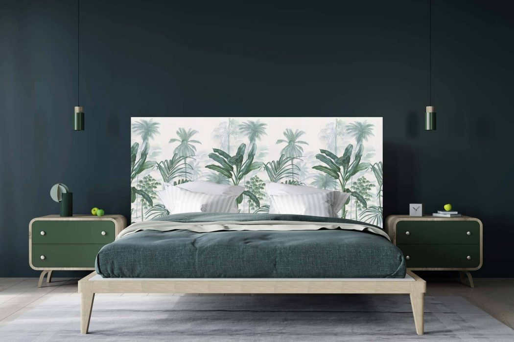 Tête de lit jardin Tropical 160*70 cm