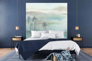 tête de lit Flamands Roses 160*140 cm