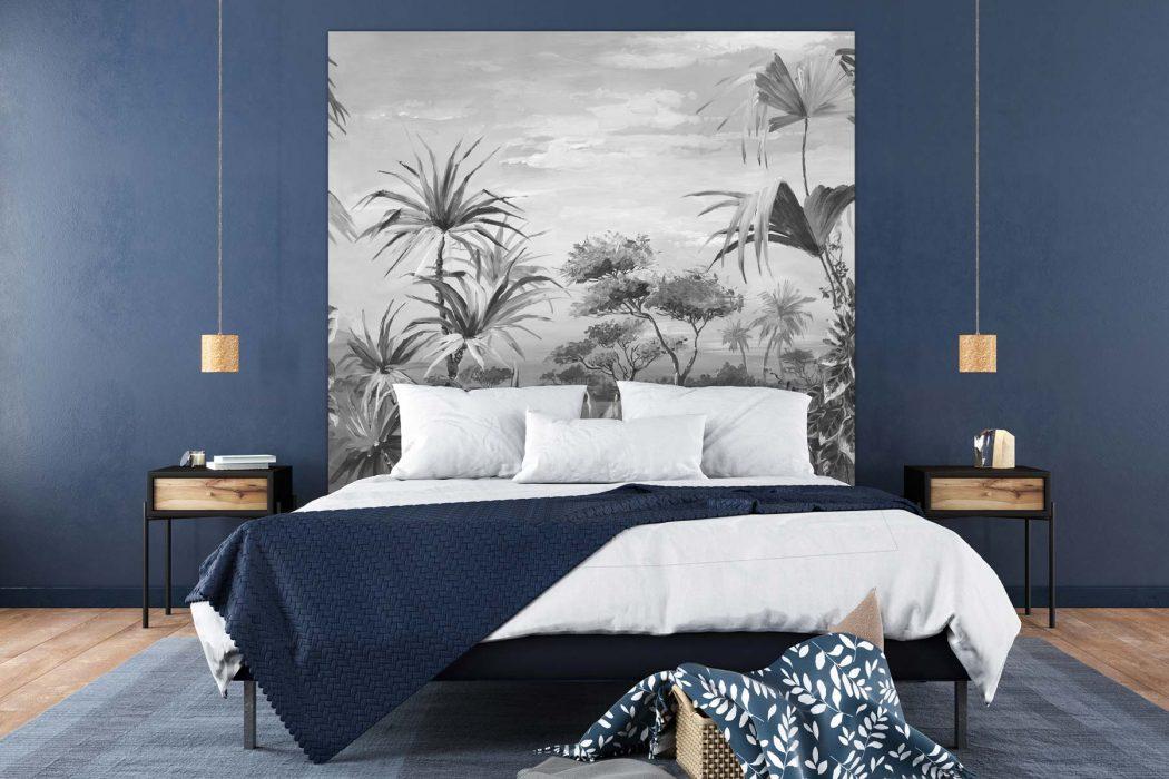 Tête de lit La Savane N&B 160*140 cm