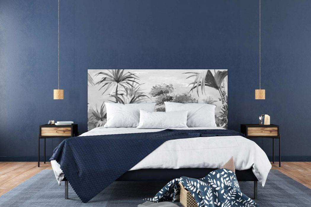 Tête de lit la Savane N&B 160*70 cm