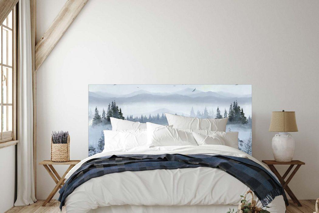 Tete de lit Des l Aube 160*70 cm